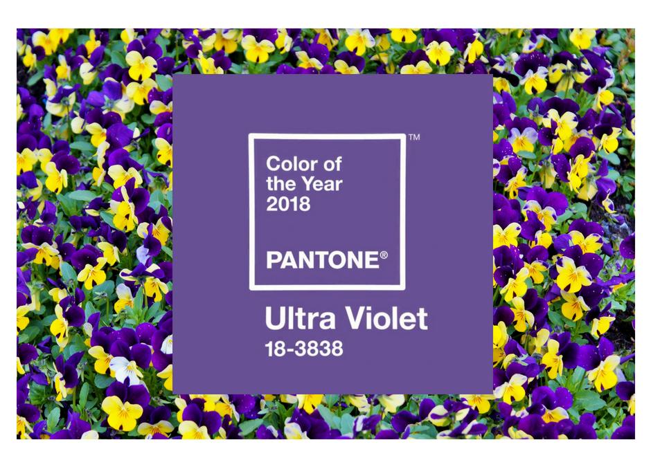 UltraViolet: il colore eletto da Pantone per il 2018
